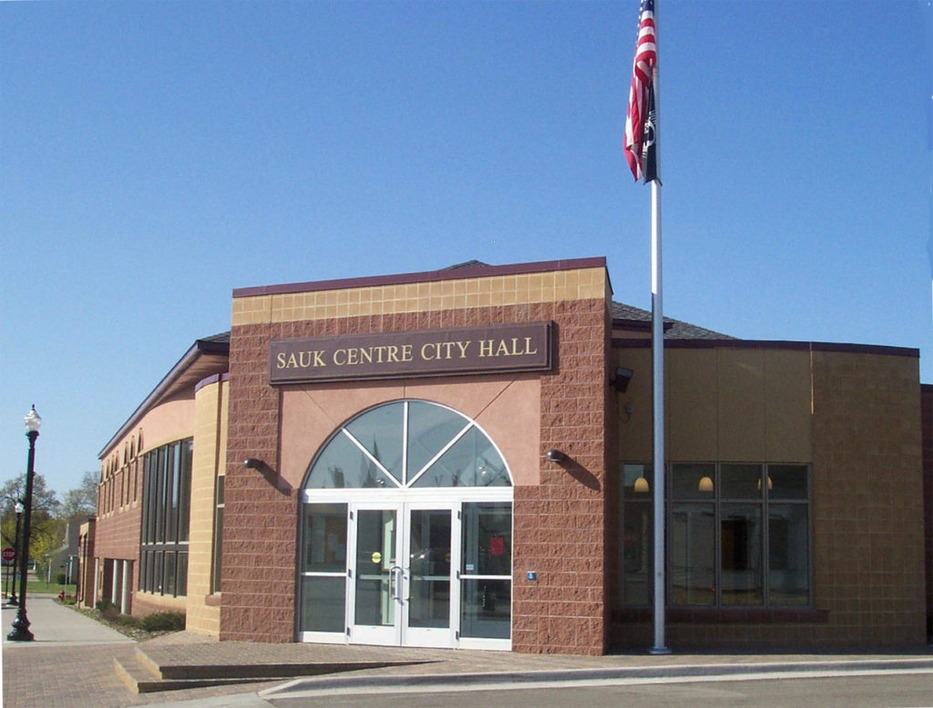 SaukCentre City Hall