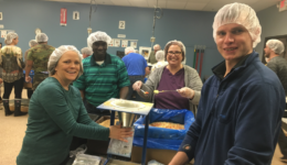 ISS Volunteer Outing at Feed My Starving Children
